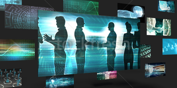 Business Networking Platform Stock photo © kentoh