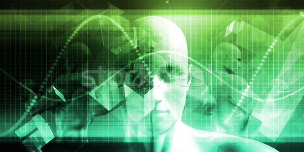 Software engineering ontwerp technologie beroep abstract Stockfoto © kentoh