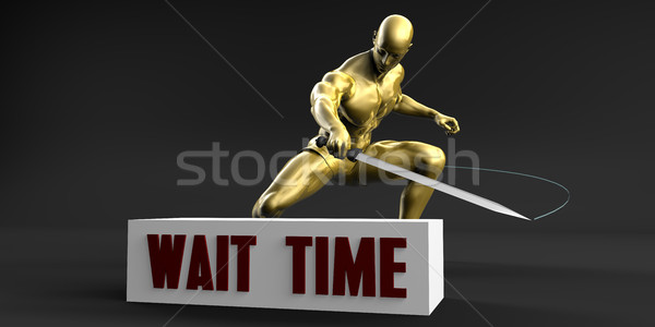 Reduce Wait Time Stock photo © kentoh
