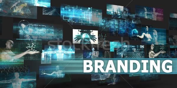 Branding Stock photo © kentoh