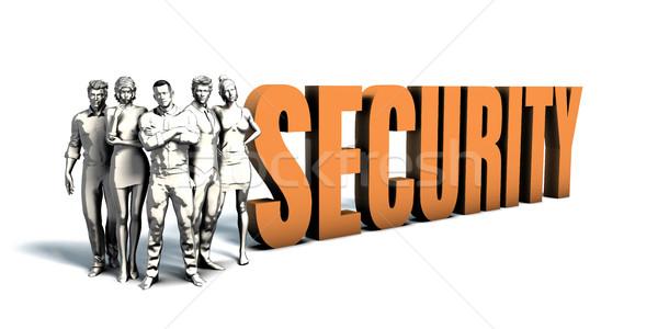 Zakenlieden veiligheid kunst team vrouwen Stockfoto © kentoh