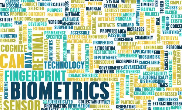 Biometrics Stock photo © kentoh