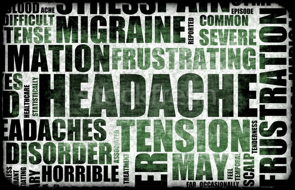Headache Stock photo © kentoh