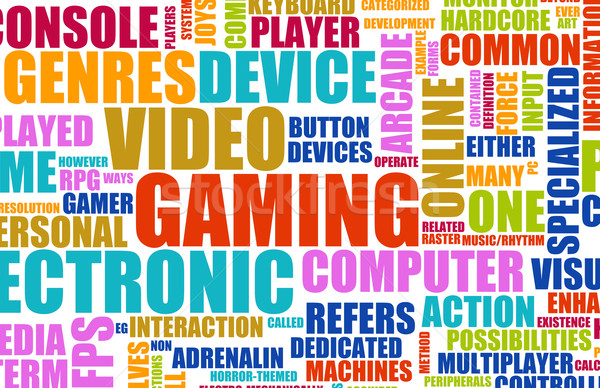 Video Games Stock photo © kentoh
