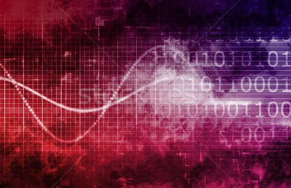 Tecnologia da informação negócio internet abstrato médico luz Foto stock © kentoh