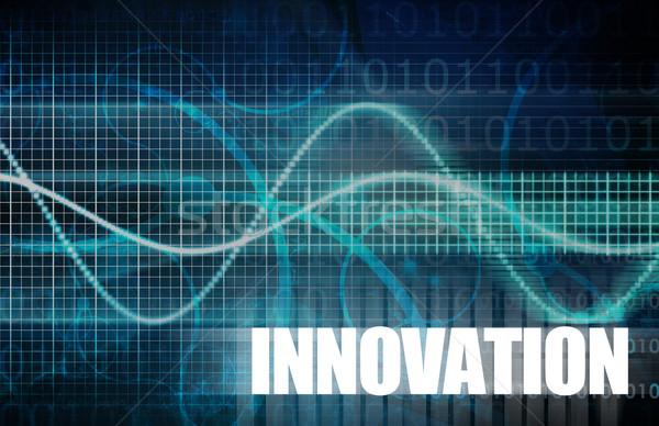 Innovatie dacht leider business denken bedrijf Stockfoto © kentoh