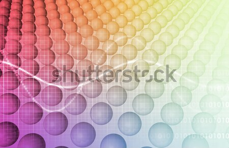 Wetenschap technologie gegevens abstract kunst business Stockfoto © kentoh