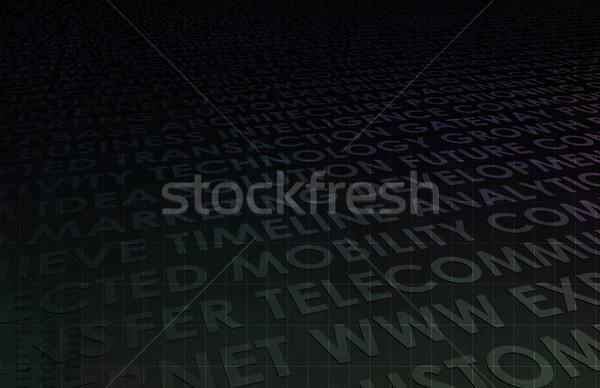 Corporate Sales Stock photo © kentoh