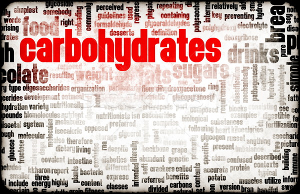 Carbohydrates Weight Loss Stock photo © kentoh