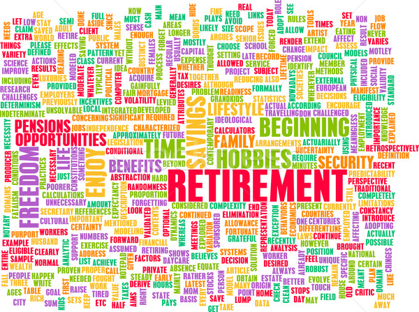 Retirement Stock photo © kentoh