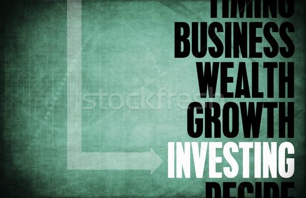投資 コア 原則 ビジネス レトロな デジタル ストックフォト © kentoh