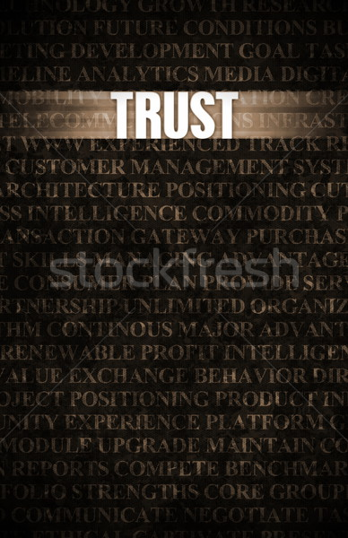 Trust Stock photo © kentoh