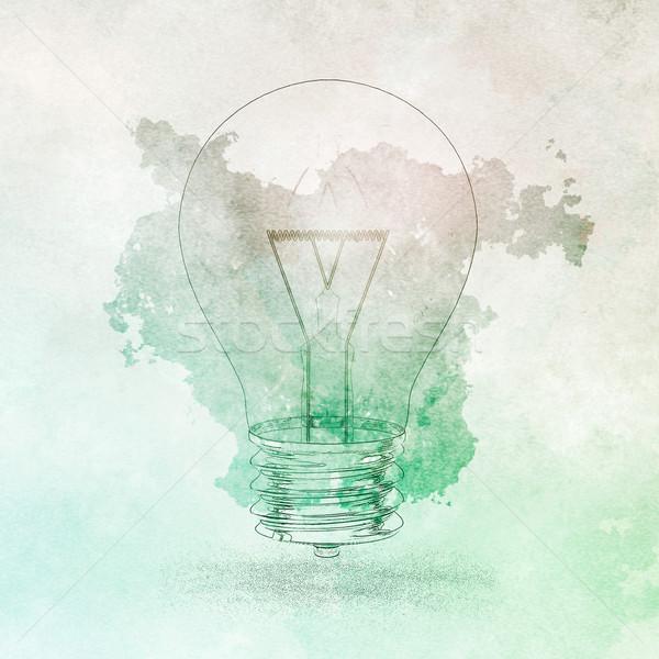 Orvosi technológia absztrakt fény tudomány struktúra Stock fotó © kentoh