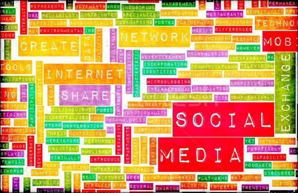 Social Media Stock photo © kentoh