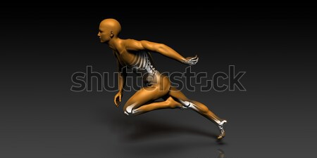 Sport Injury and Sports Recovery Stock photo © kentoh