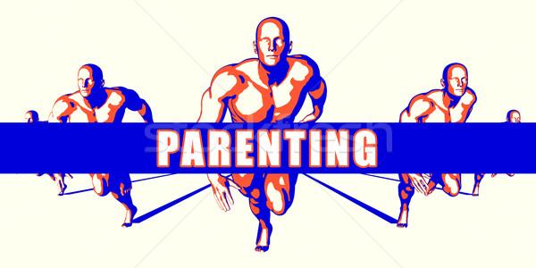 Parenting Stock photo © kentoh