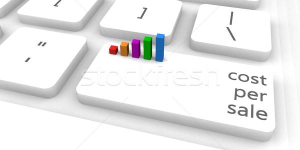 コスト 販売 キーボード バー 業界 ストックフォト © kentoh