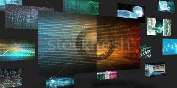 бизнеса цикл продажи маркетинга аннотация стены Сток-фото © kentoh