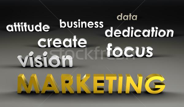 Marketing at the Forefront Stock photo © kentoh