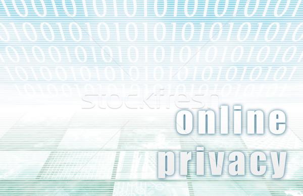 Online Privacy Stock photo © kentoh