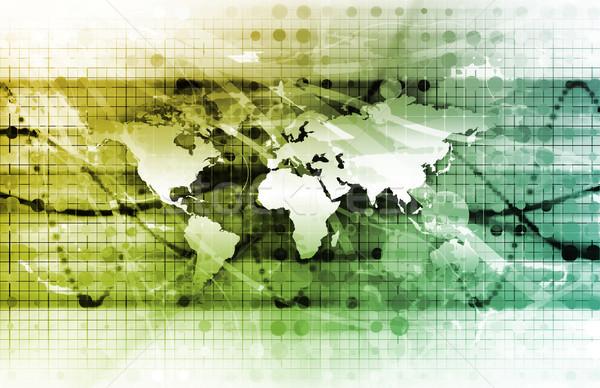 Global Management Stock photo © kentoh