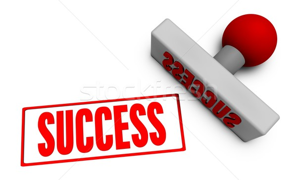 Success Stamp Stock photo © kentoh