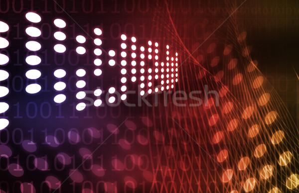 Stok fotoğraf: Yeni · nesil · teknoloji · web · hızlandırmak