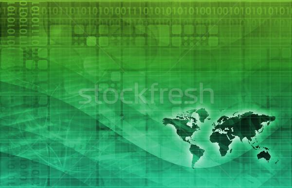 Digital Identity Management Stock photo © kentoh
