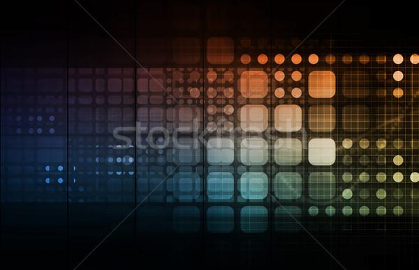 Dijital multimedya içerik Internet web ağ Stok fotoğraf © kentoh