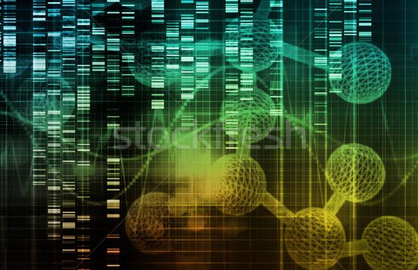 генетический инженерных науки искусства корпоративного жизни Сток-фото © kentoh