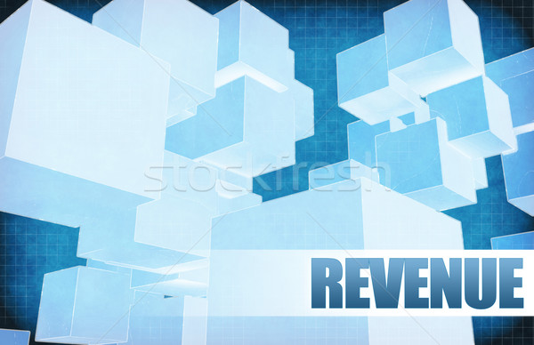Revenue on Futuristic Abstract Stock photo © kentoh