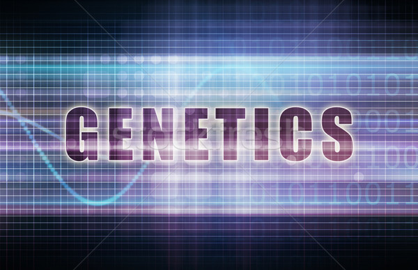 Genetics Stock photo © kentoh