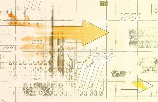 Veritabanı veri analiz bilgisayar teknoloji Stok fotoğraf © kentoh