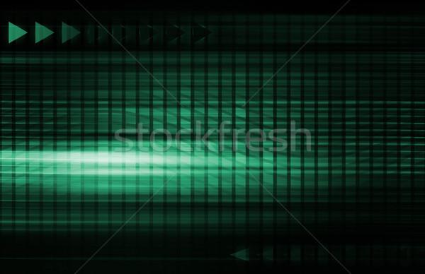 Global business sieci nowoczesne linie działalności pracy Zdjęcia stock © kentoh