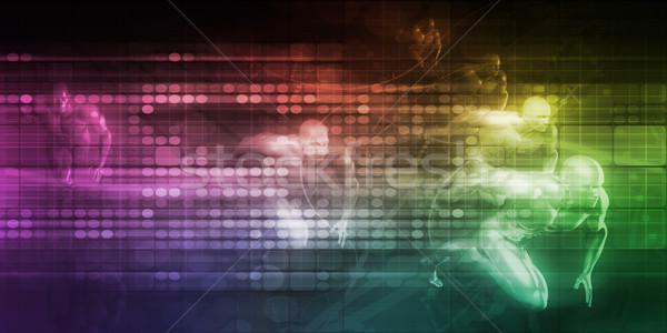 Internetu związku internetowych danych łączność Zdjęcia stock © kentoh