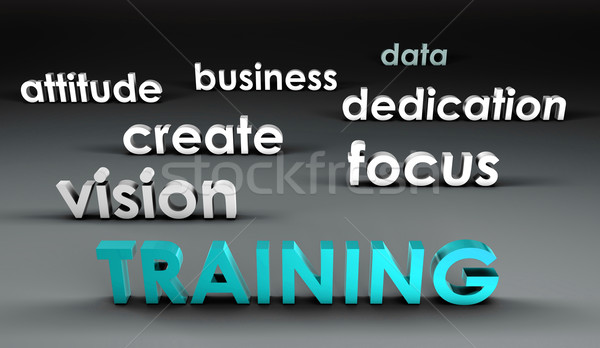 Training at the Forefront Stock photo © kentoh