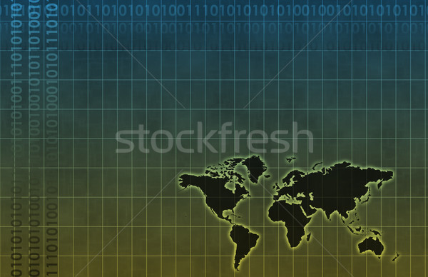 Business System Abstract Background Stock photo © kentoh