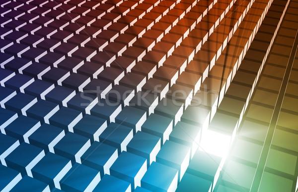Estratégia de marketing núcleo produto modelo indústria Foto stock © kentoh