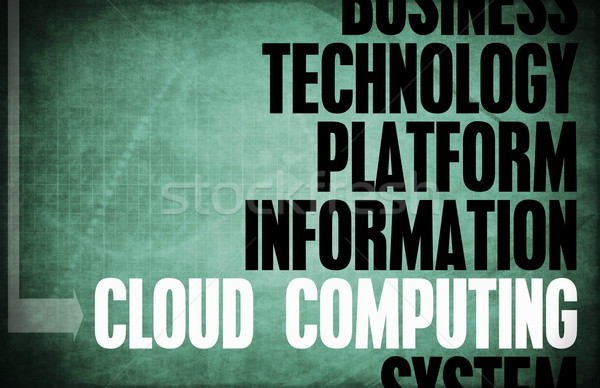 Cloud Computing Stock photo © kentoh