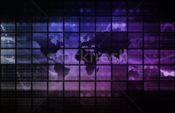 Marketing Background Stock photo © kentoh