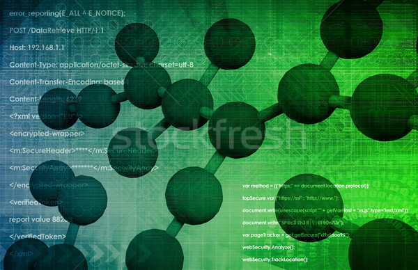 Molecular Biology Stock photo © kentoh