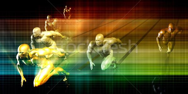 Sports Marketing Stock photo © kentoh