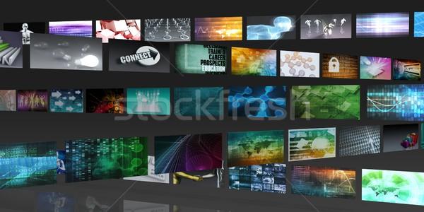 Technology Network System Stock photo © kentoh