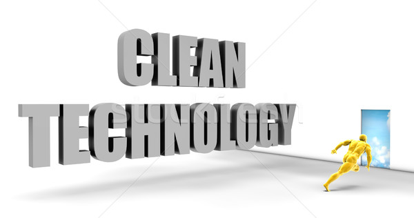 Temizlemek teknoloji hızlı izlemek doğrudan hızlı Stok fotoğraf © kentoh
