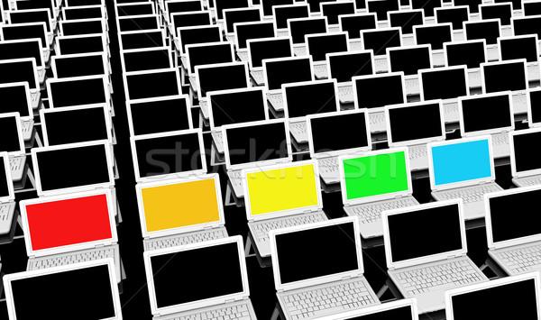 Different Technologies Stock photo © kentoh
