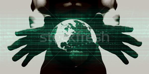 Disruptive Technologies Stock photo © kentoh