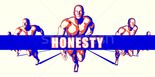 Honesty Stock photo © kentoh