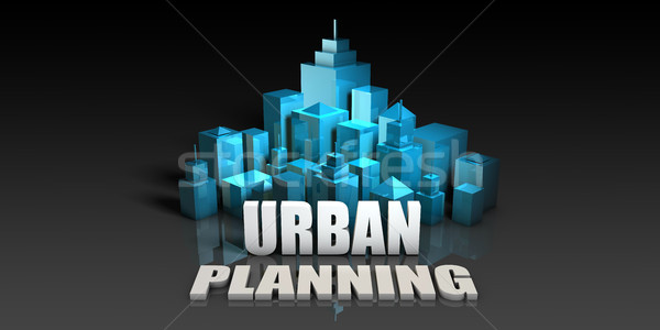 Urban Planning Stock photo © kentoh
