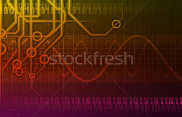 Futuristic Technology Abstract Stock photo © kentoh