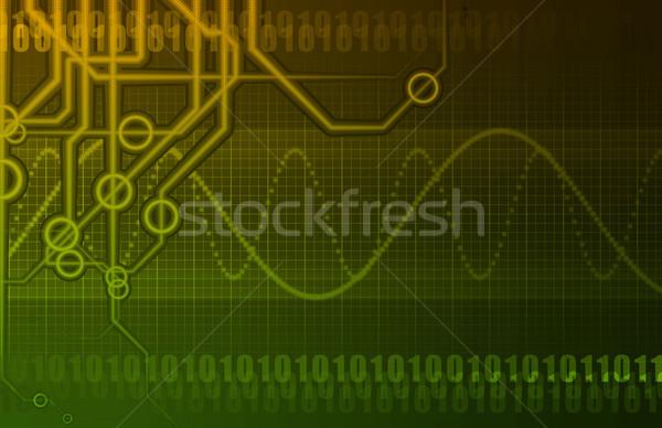 Telecommunications Industry Global Network Stock photo © kentoh